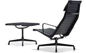 eames® aluminum group lounge chair  ottoman  hivemoderncom