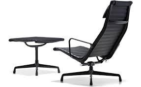 Eames Chair With Ottoman Eamesr Aluminum Group Lounge Chair Ottoman Hivemoderncom