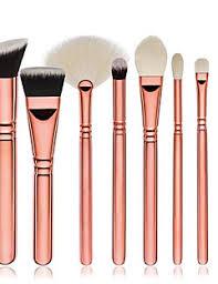 8pcs contour brush makeup brush set blush brush eyeshadow brush concealer brush fan brush foundation brush