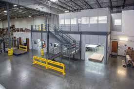 warehouse mezzanine modular office. In-Plant Office Mezzanines Warehouse Mezzanine Modular