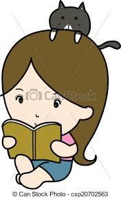 a small reading book cartoon csp20702563