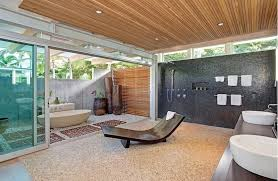 integrating nature is a main component to the midcentury modern look image via mid century design a81