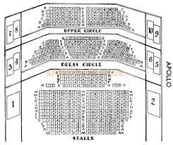 Lyric Theatre Seating Chart London The Apollo Theatre Shaftesbury Avenue London