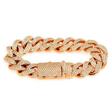 diamond chain diamond cuban link