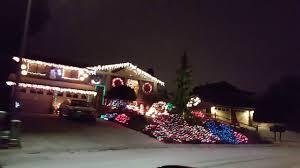 Everett Christmas Lights Christmas Lights In Fir Grove Everett Youtube