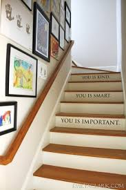 Image Small Lighting In Our Stairwell Stacys Savings Lighting In Our Stairwell Emily A Clark