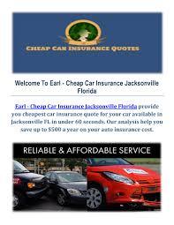 car insurance quotes jacksonville fl best quote 2017