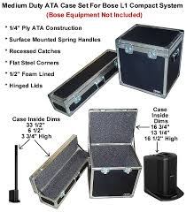 bose l1 compact. ata case set for bose l1 compact system bose