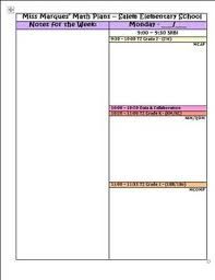 Microsoft Lesson Plans Small Group Lesson Plan Template Microsoft Word Dox By Lauren Marques