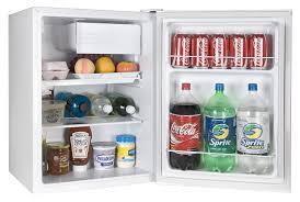 com haier hc27sf22rw 2 7 cubic feet refrigerator freezer white appliances