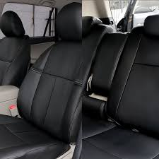 fh group cm301 2006 2010 toyota rav4 leather black customized seat covers full set ca patio lawn garden