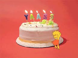 Happy Birthday Cake Gif By Birthday Bot Find Share On Giphy