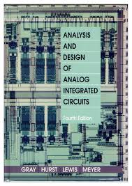 Electronic Circuit Analysis And Design 4th Edition Pdf Analysis And Design Of Analog Integrated Circuits Pdf