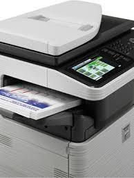 sharp printer. sharp mx-c312 color all-in-one printer o