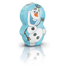 Comic book lighting Art Philips Disney Frozen Olaf Led Flashlight Torch New Ebay Disney Childrens Comic Book Heroes Lighting Fixtures Ebay