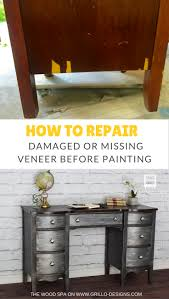 painting designs on furniture. How To Repair Damaged Veneer Before Painting Furniture Designs On F