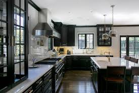 kitchens with black cabinets. Hudson House Transitional-kitchen Kitchens With Black Cabinets T