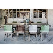 Casa Padrino Landhaus Esstisch Eiche Rustic Grey Barock Stil Tisch