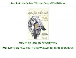 the love poems of khalil gibran full