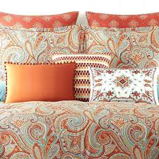 blue paisley comforter bedding sets awesome