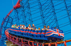 Pleasure beach blackpool rides