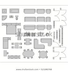 drawing furniture plans. Architectural Drawing For Planning Construction And Home Improvement.  Symbols Used Furniture Architecture Plans Icons