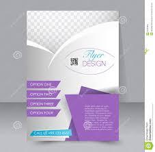 Editable Flyer Template Flyer Template Business Brochure Editable A4 Poster Stock