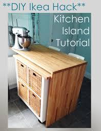 diy kitchen island ikea. Brilliant Ikea DIY Ikea Hack  Kitchen Island Tutorial Throughout Diy K
