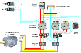 wiring diagram star delta starter wiring diagram and hernes 3 star delta starter control wiring diagram jodebal