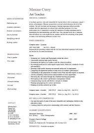 Cv Primary School Teacher Cv Teacher Template Onlineemily Info