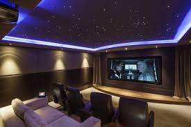 Home Theater Room Design Cool Decorating Design