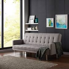 futon sofa bed for sale. Perfect For Handy Living Springfield Dove Grey Linen Click Clack Futon Sofa Bed Inside For Sale