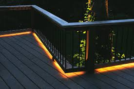 deck lighting. Photo Credit: Http://www.zaretskyassociates.com/ Deck Lighting