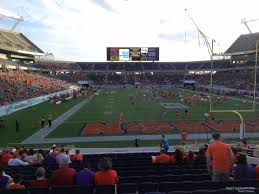 Citrus Bowl Seating Chart Camping World Stadium Section 148 Rateyourseats Com