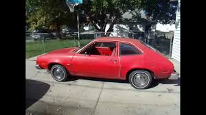 1978 Ford Pinto Pony 4 Cylinder 4 Speed 29,600 Original Miles ...