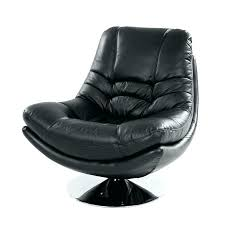 annaldo leather swivel chair ottoman black tan armchair