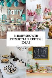 Baby Shower Dessert Table Ideas Genegdanskco