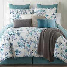 JCPenney Home Clarissa 4-pc. Reversible Comforter Set ... & jcpenney.com   JCPenney Home Clarissa 4-pc. Reversible Comforter Set &  Accessories Adamdwight.com