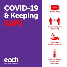 How to stay safe and well. Coronavirus Covid 19 Update Each