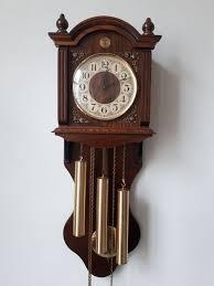 franz hermle movement wall clock 3 weights