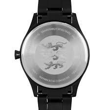 lw19 · mens watch · all black bracelet