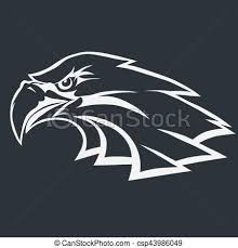bald eagle template eagle head logo vector eagle head logo template hawk eps vector