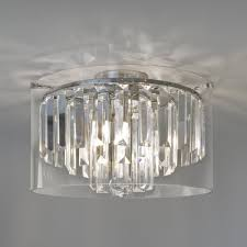 asini crystal glass bathroom ceiling light