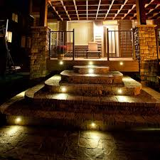 stair lights pavers