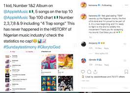 Rema Makes History As The First Nigerian Artist To Debut 5
