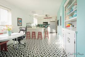 painted vinyl floor royal design studio stencil all the angles