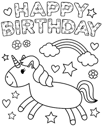 Here you will find coloring pages with balloons, birthday cake, presents and more. Happy Birthday Coloring Page For Kids Topcoloringpages Net