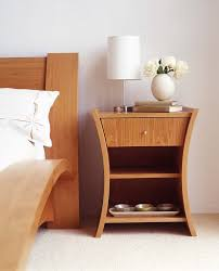 Side Table In Bedroom Twin Mirror Above Modern Table Side Plus Alluring Lamp Combined