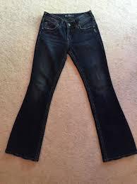 Womens Jeans Silver Suki Surplus Boot Cut Size W26 L30