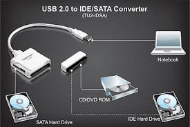 products tu idsa usb to sata ide converter hard drives over a usb 2 0 connection it works most ide up to ata 133 and sata 1 0a devices this device provides a simple yet powerful data